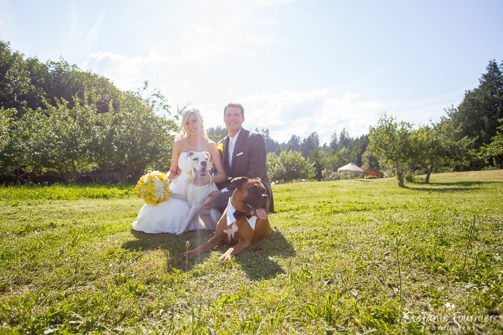 Country Wedding Vancouver Island
