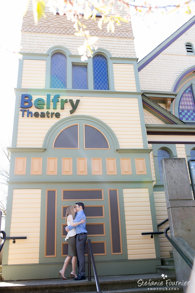 Belfry Theatre Fernwood Engagement Photos