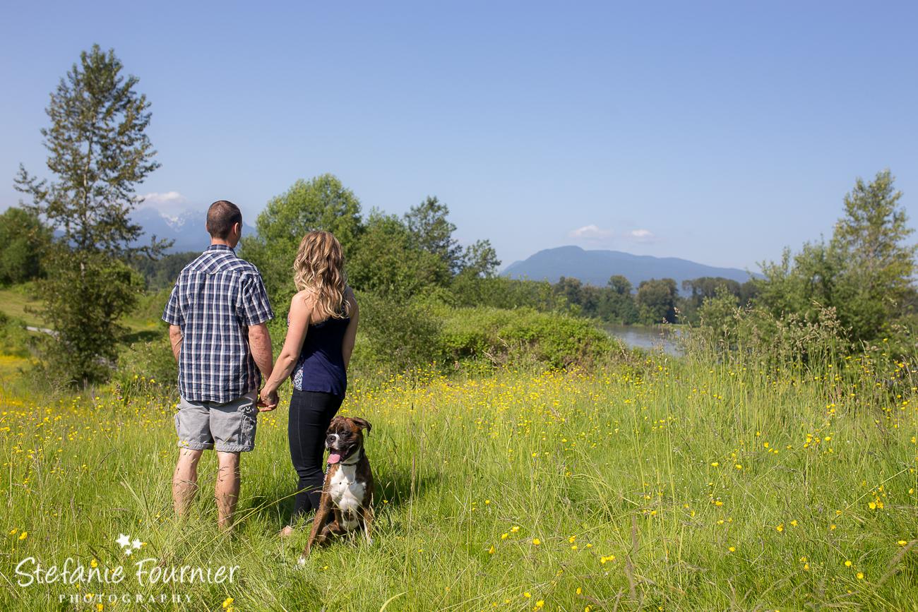 Langley Wedding Dog Photography