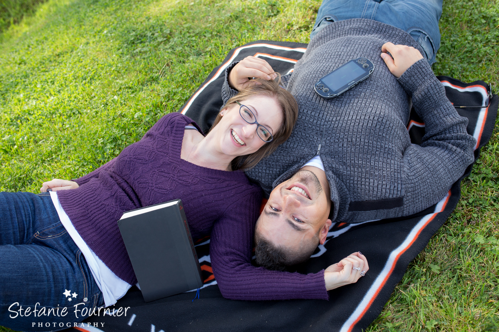 Stacey & Jonny's Engagement Photos at Campbell Valley Langley