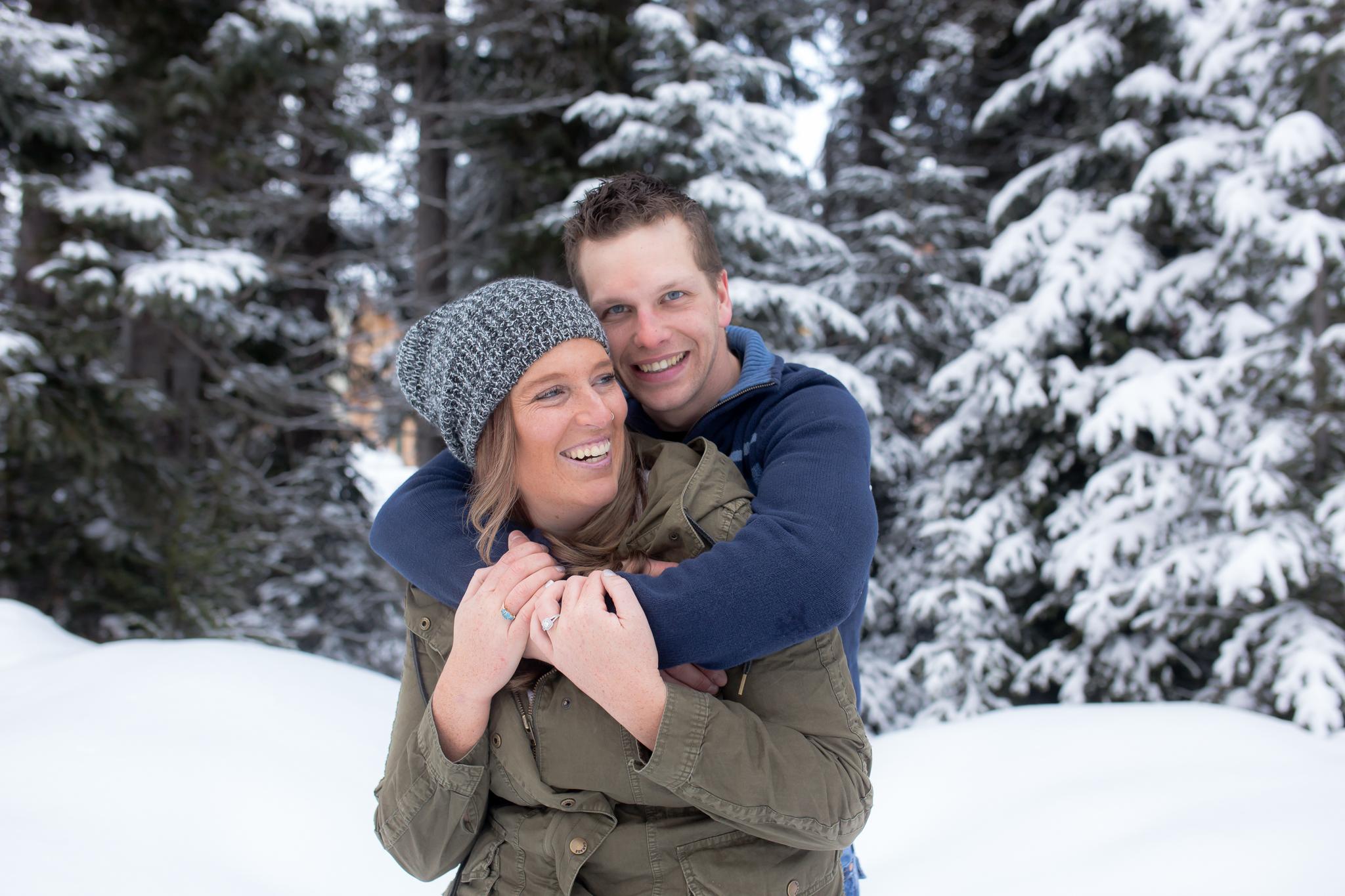 Ian & Nicole's Sun Peaks Engagement Session