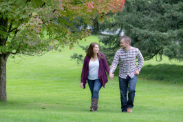 Kayleigh & Justin's Hatley Castle Engagement & Family Session