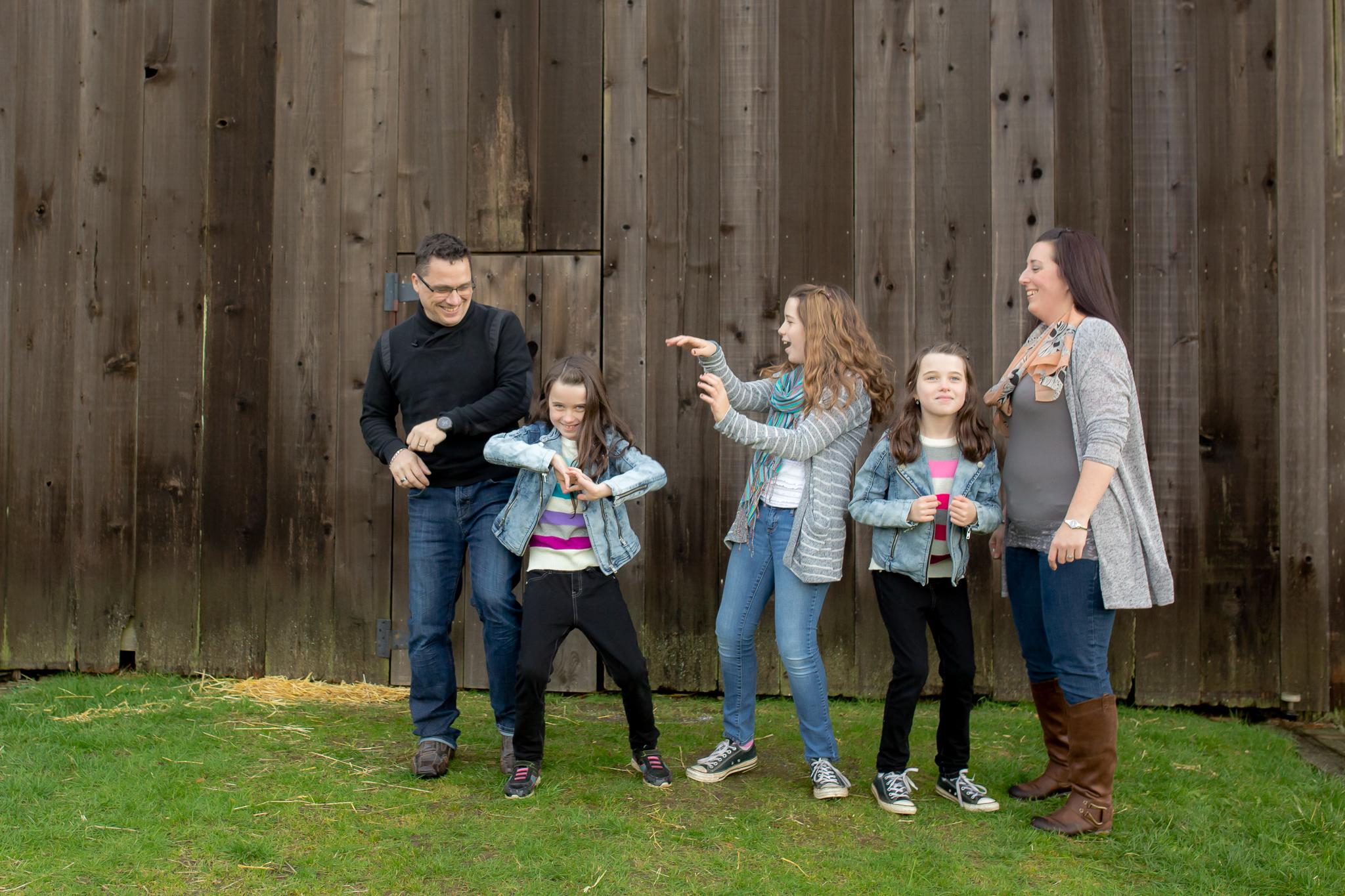Campbell Valley Park Family Photos
