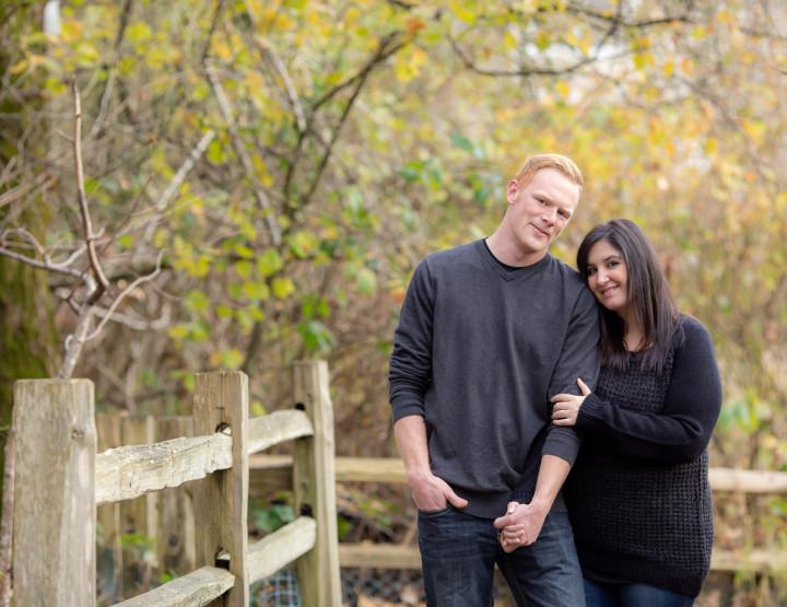 Vasilika & Mike's Engagement Photos in Langley