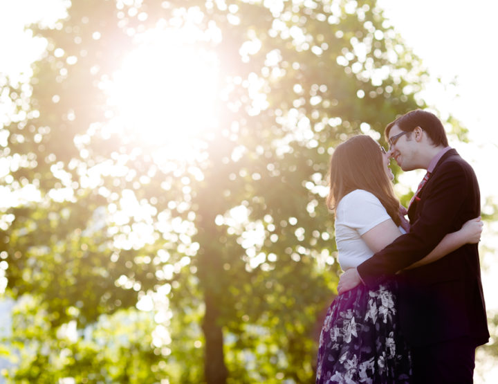 Katie & Patrick's Engagement Session in Vancouver [Crab Park, Yaletown]