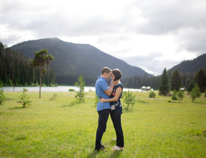 Cheryl & Brent's Manning Park Photography Session