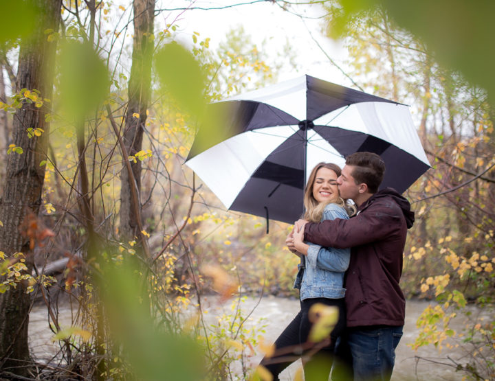 B&Z's Rainy Day Session [Kamloops Photographer]