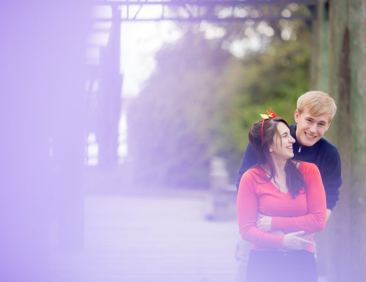K&M's Engagement Photography Session at Deas Island in Delta