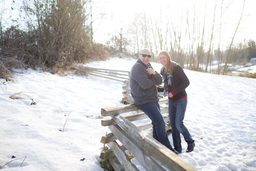 D & E's Engagement Photography Session at Derby Reach in Langley