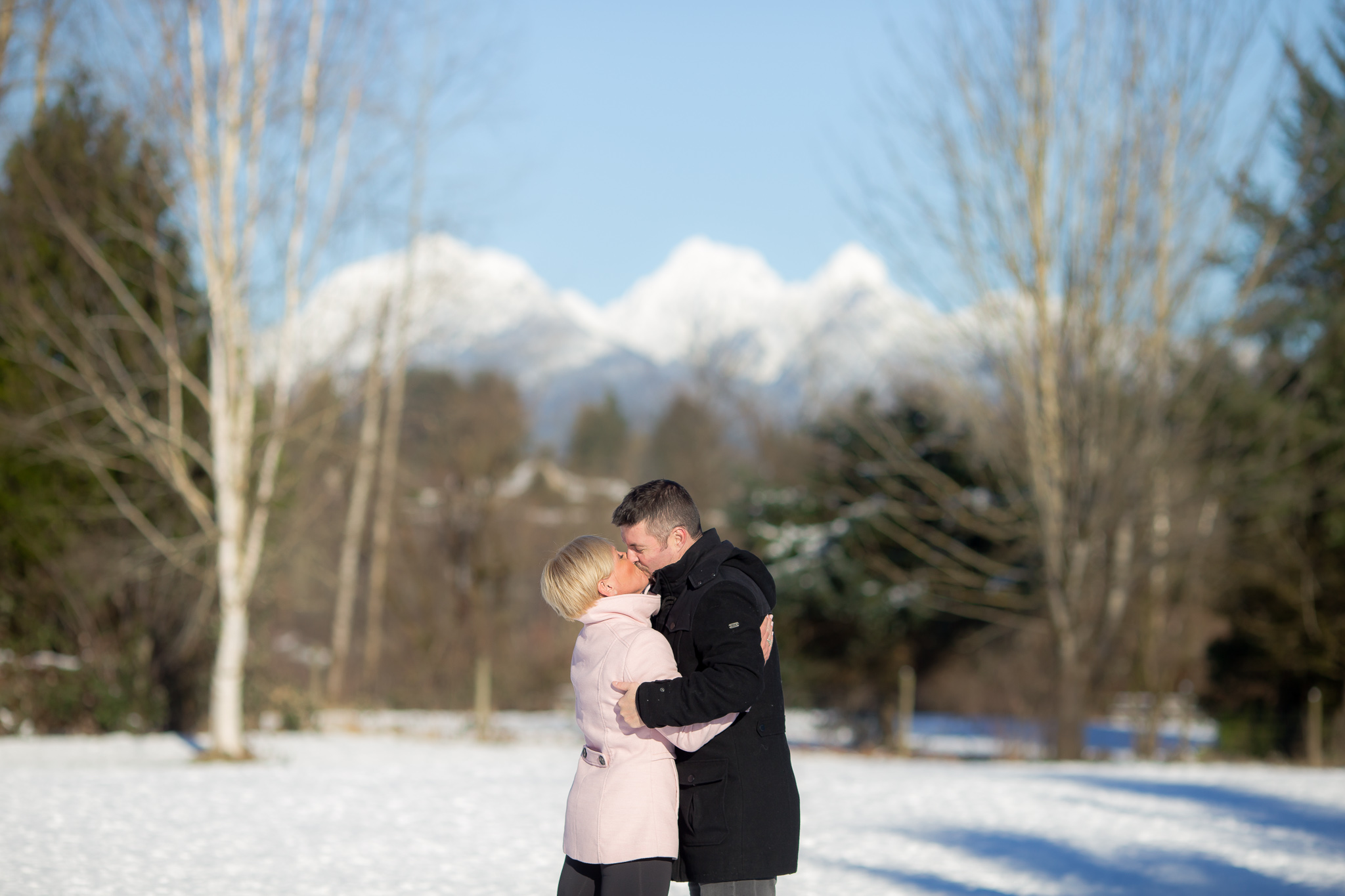 Victoria & Paul's Langley Winter Photography Session