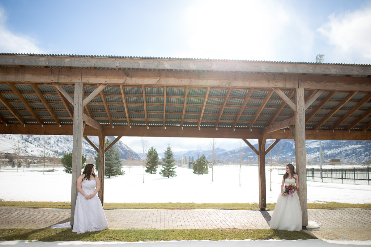 T&A Re-live the Dress [Kamloops Wedding Photographer]