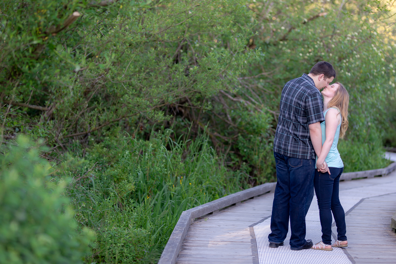 Deer Lake Engagement Photos