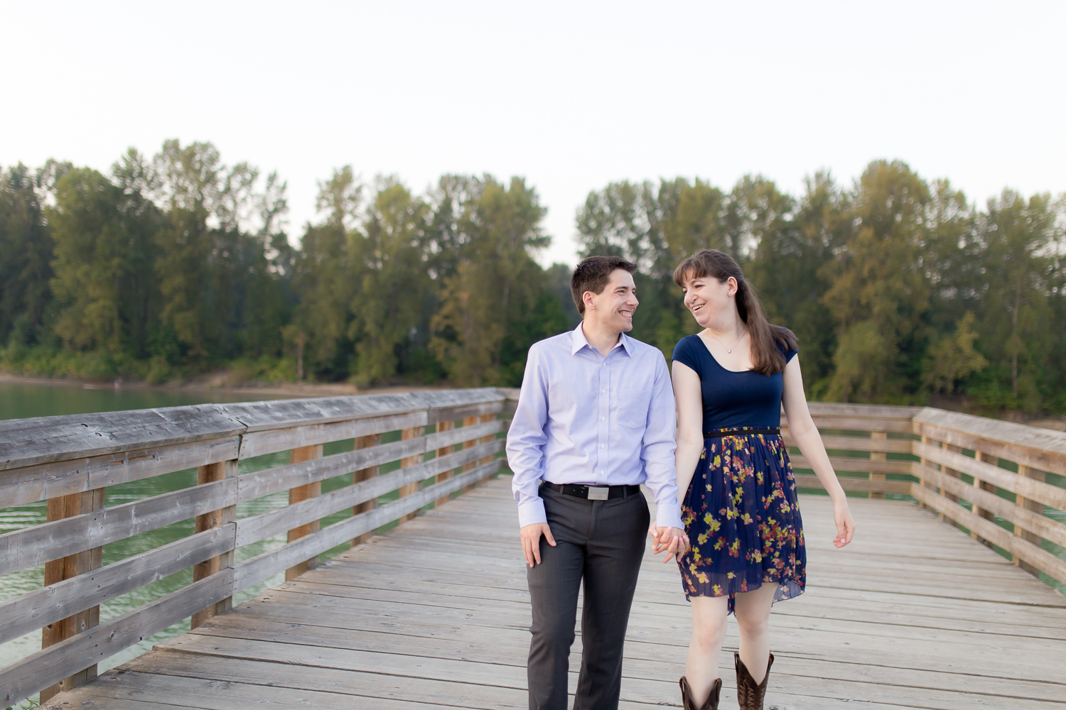 Fort Langley Engagement Photos