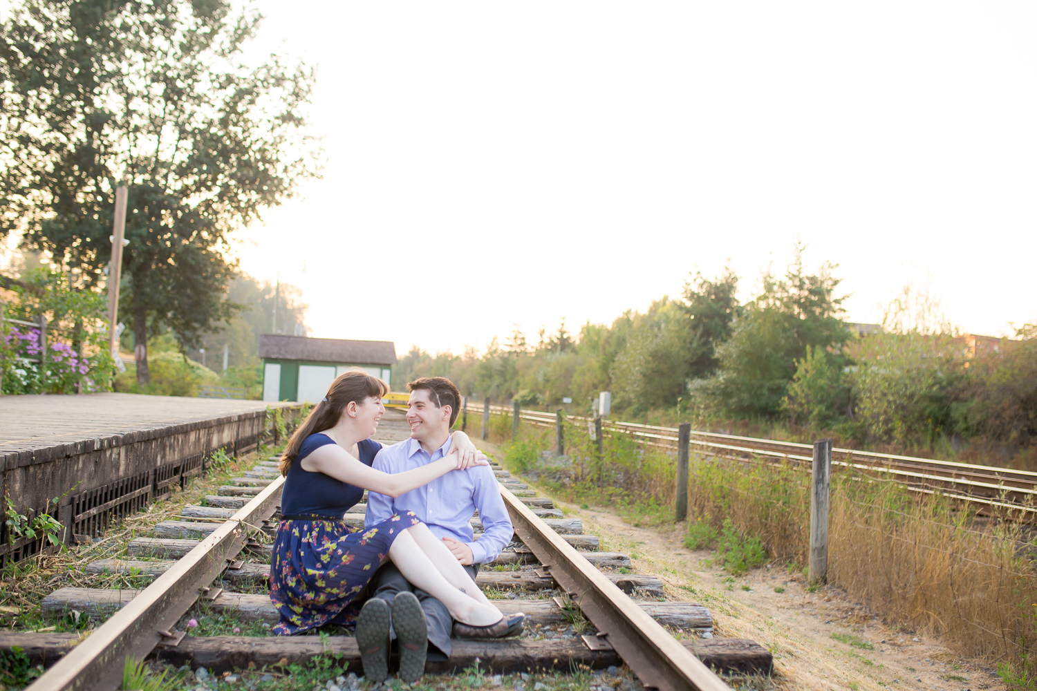 C & M's Engagement Session in Fort Langley