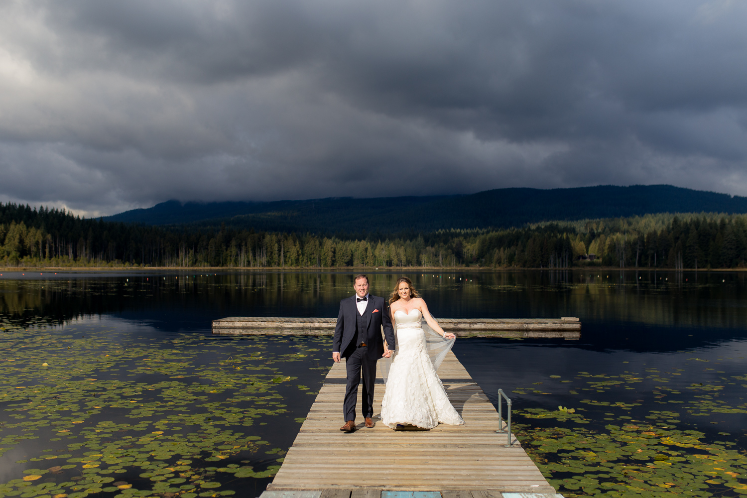 Whonnock Lake Wedding Photos