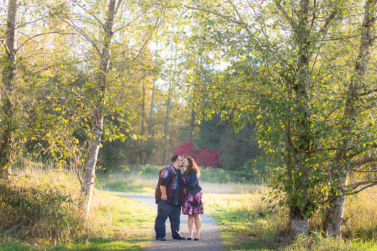 A&V's Engagement Session at Campbell Valley Park