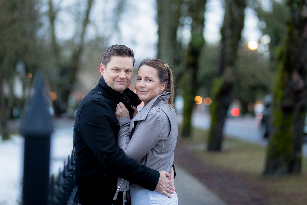 S&E's Fort Langley Winter Engagement Photo Session