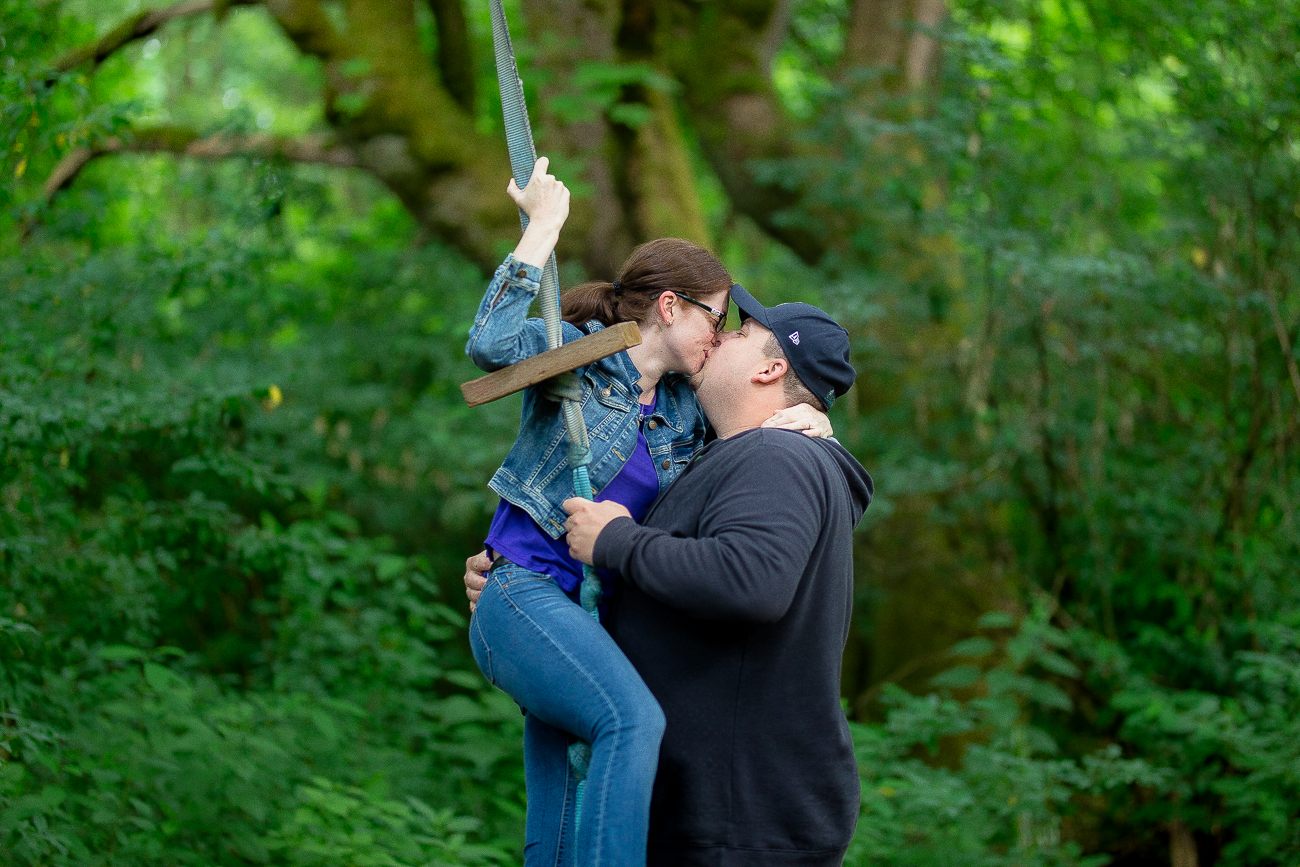 Jessica & Greg's Engagement Session in Langley